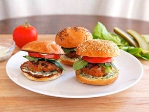 Spiced Up Turkey Burgers on TheShiksa.com #healthy #grilling #recipe #4thofjuly