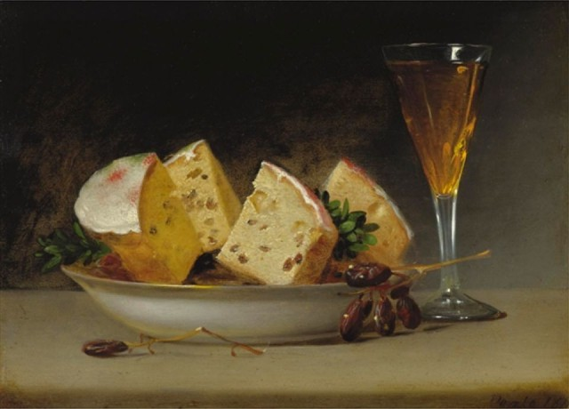 Currants and Biscuits by Raphaelle Peale