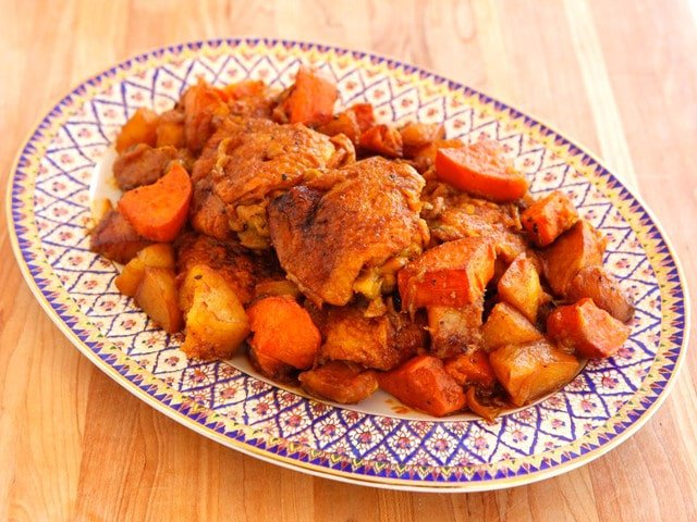 Israeli Chicken Sofrito - One Pot Braised Chicken Recipe