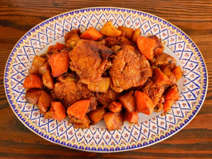 Israeli chicken sofrito one pot braised chicken recipe israeli chicken sofrito recipe onepotmeal forumfinder Images