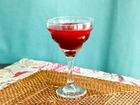 Persian Pomegranate Mocktail on TheShiksa.com #drink #recipe