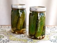 Quick Pickles on TheShiksa.com #Jewish #recipe