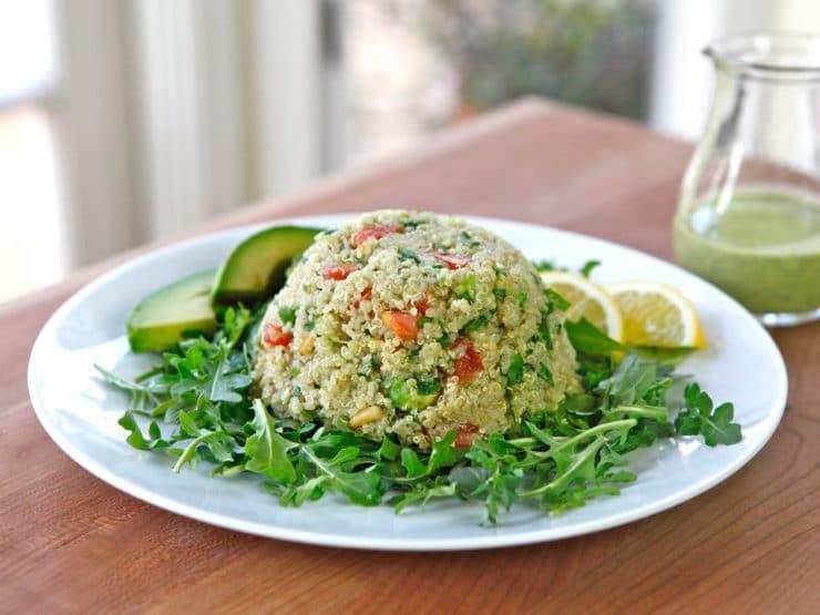 Quinoa Avocado Tabbouleh