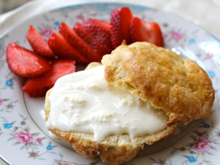 The Old Fashioned Way: Clotted Cream and Scones