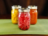Pickled Red Onions - Easy Pickle Recipe with Canning Instructions