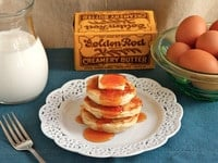 Gary Cooper's Buttermilk Griddle Cakes - Learn to make buttermilk griddle cakes from a vintage recipe used at Gary Cooper's family ranch in Montana.