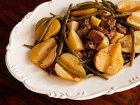 Lamb Stew with Pears