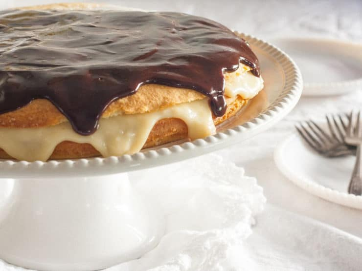 American Cakes – Boston Cream Pie