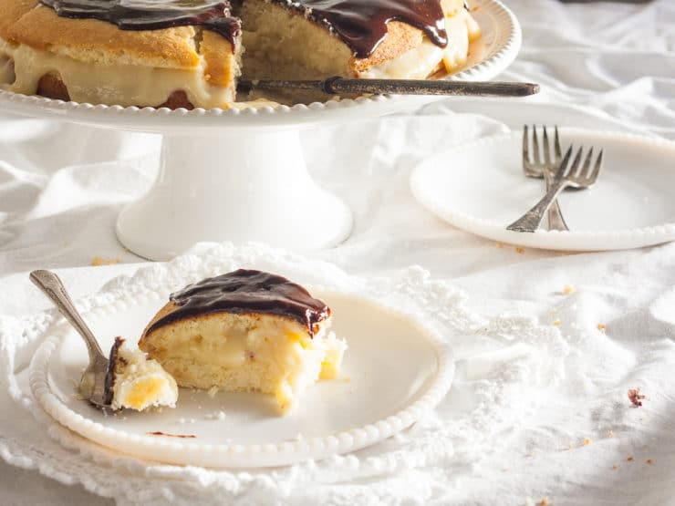 A detailed history of the Boston Cream Pie, including a delicious classic recipe from food historian Gil Marks.
