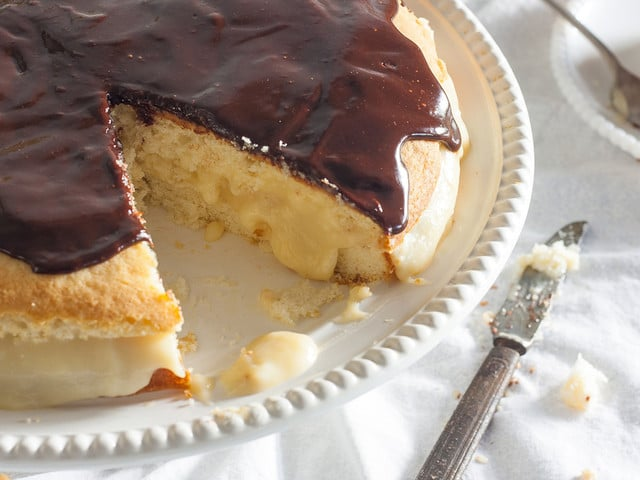 Boston Cream Pie on The History Kitchen - History and Recipe