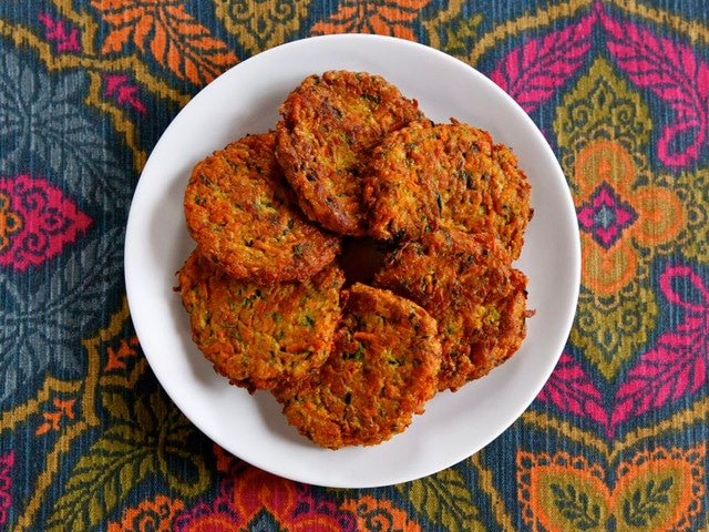 Curry Vegetable Latkes Recipe for Thanksgivukah