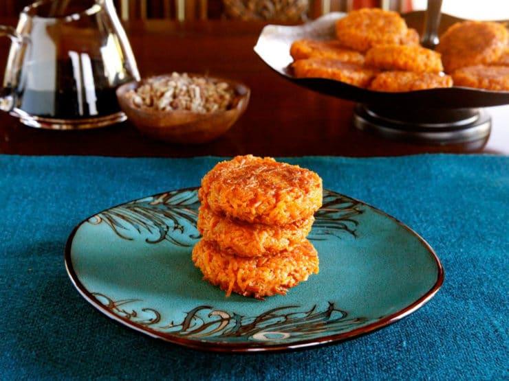 Sweet Potato Latkes Recipe Sweet Potato Latkes Savory