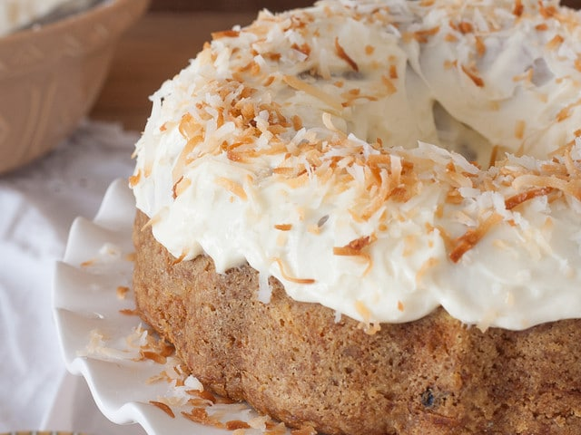 Carrot Cake - Classic Recipe and History on The History Kitchen