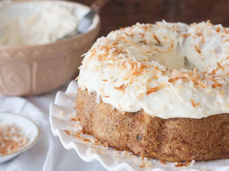 American Cakes: Carrot Cake with Cream Cheese Frosting - A classic recipe and detailed history from food historian Gil Marks.