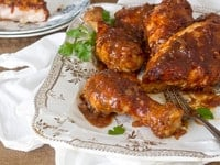Cary Grant's Oven-Barbecued Chicken Recipe on The History Kitchen