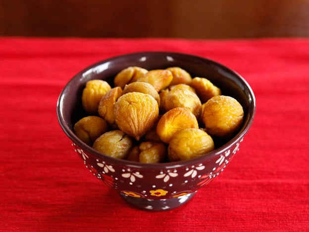 How to Roast and Peel Chestnuts - Easy Recipe Tutorial
