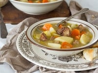 What the Union Soldiers Ate - Learn what Union Soldiers ate during the Civil War, and try a historical recipe for Commissary Beef Stew from Captain James M. Sanderson.