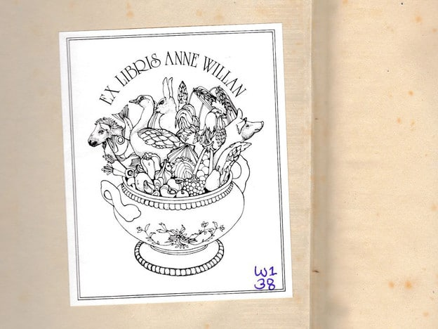 Ex Libris Anne Willan - A cookbook's journey from Anne Willan to Tori Avey. Read about Anne's memoir One Soufflé at a Time and try her recipe for Petits Financiers.