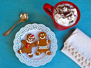 The History of Gingerbread and a Recipe for Gingerbread Cookies on The History Kitchen