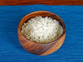 Cauliflower Couscous - Healthy Low Carb Gluten Free Substitute for Couscous