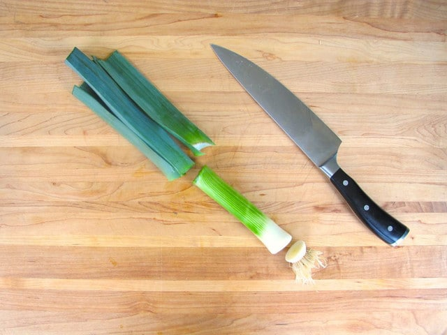 How to Clean and Slice Leeks - Easy Step by Step Tutorial