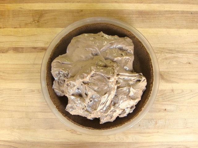 Coffee Pie - Vintage Recipe for Simple No-Bake Dessert