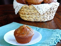 Seven Species Muffins - Recipe for Tu B'Shevat with Ingredients Inspired by the Biblical 7 Species of Israel