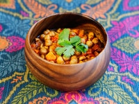 Slow Cooker Vegan Chickpea Chili Recipe - Healthy Comfort Food