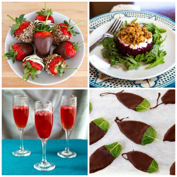 Edible Aphrodisiacs - A Romantic History and Recipe Roundup #valentinesday #recipes