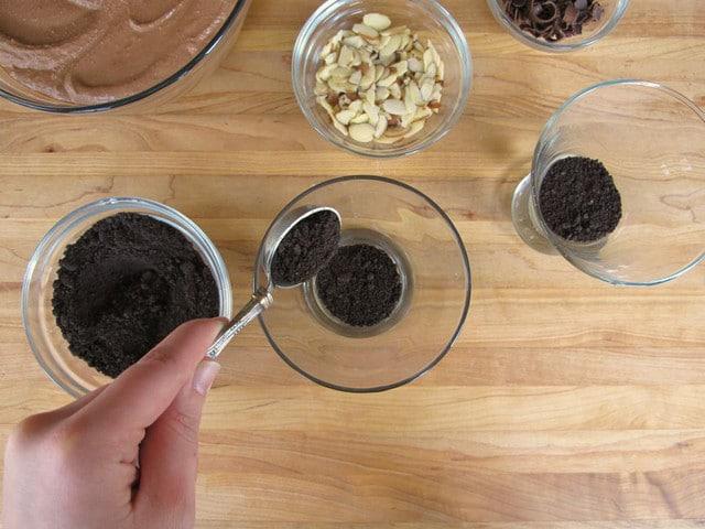 Chocolate Cheesecake Parfaits - Simple and Decadent Dessert Recipe by Tori Avey