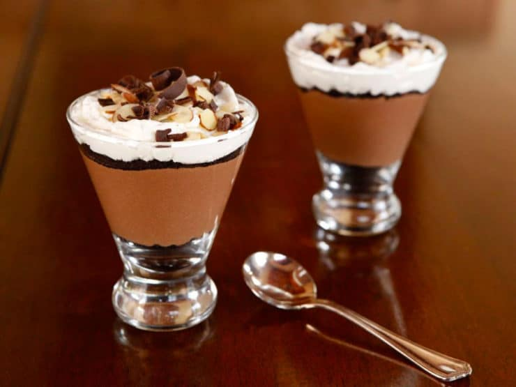 Chocolate Cheesecake Parfaits
