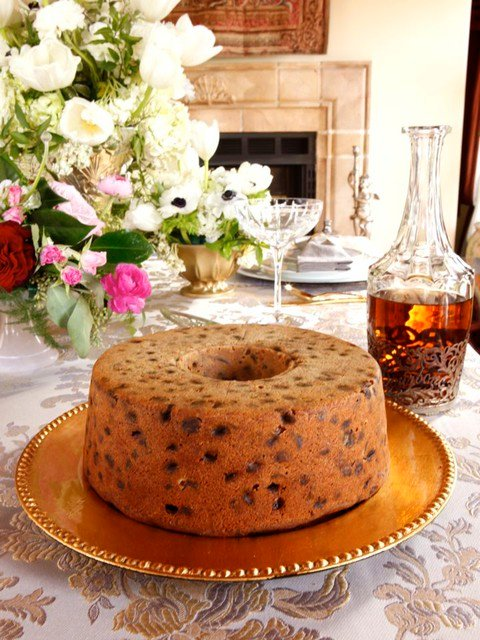 A traditional recipe for Kentucky Bourbon Whiskey Cake from food historian Gil Marks on The History Kitchen