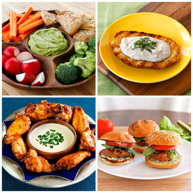 9 Healthy Game Day Recipes - Tori Avey shares healthy recipe ideas for the Super Bowl with Parade Magazine.
