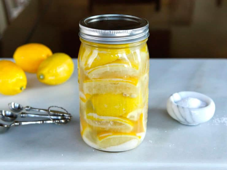 How to Make Preserved Lemons - Learn to make simple salt-preserved lemons for use in braises, sauces, tagines and recipes. All you need are lemons, a quart jar and salt!