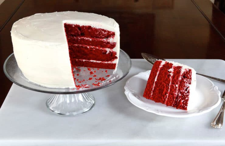 A Traditional Recipe And History For Red Velvet Cake From Food Historian Gil Marks On The
