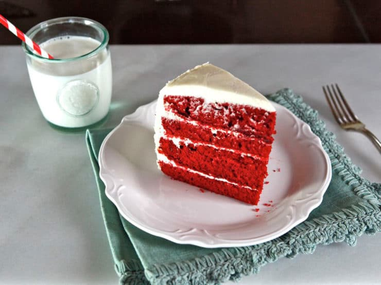 United cakes of america red velvet recipe