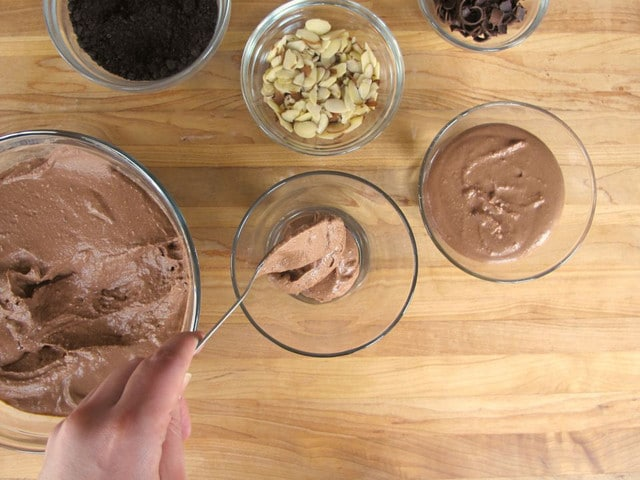 Chocolate Cheesecake Parfaits - Simple and Decadent Dessert Recipe by Tori Avey
