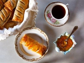 Recipe Inspired by Jane Austen - A Historical Recipe for Apple Puffs on The History Kitchen