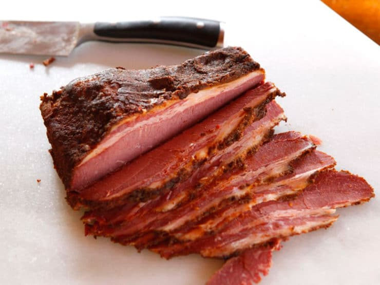 Homemade Pastrami - Simple Recipe for Curing and Cooking Your Own Pastrami, adapted from The Artisan Jewish Deli at Home