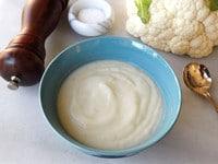 Easy Cauliflower Soup - 3 Ingredients, Healthy, Gluten Free, Creamy and Amazing. Vegan or Vegetarian
