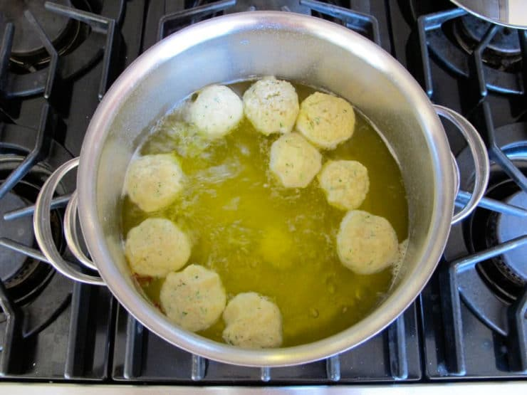 Vegetarian Matzo Ball Soup Recipe by Tori Avey - one secret ingredient ...