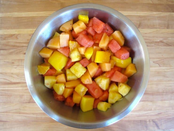 Ensalada de Frutas con Chile- Mexican Fruit Salad Recipe