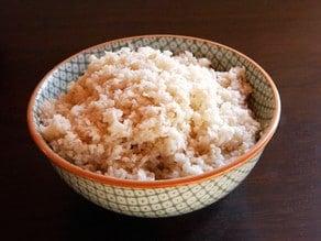 Prepared horseradish in a bowl.