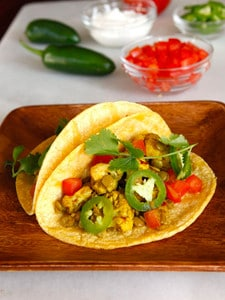Vegan Lentil Cauliflower Tacos - Healthy and Tasty Meatless Meal by Tori Avey #cincodemayo #mexican #vegetarian