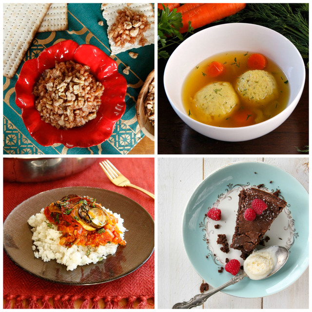 PBS Food - Vegetarian Passover Seder Recipes by Tori Avey
