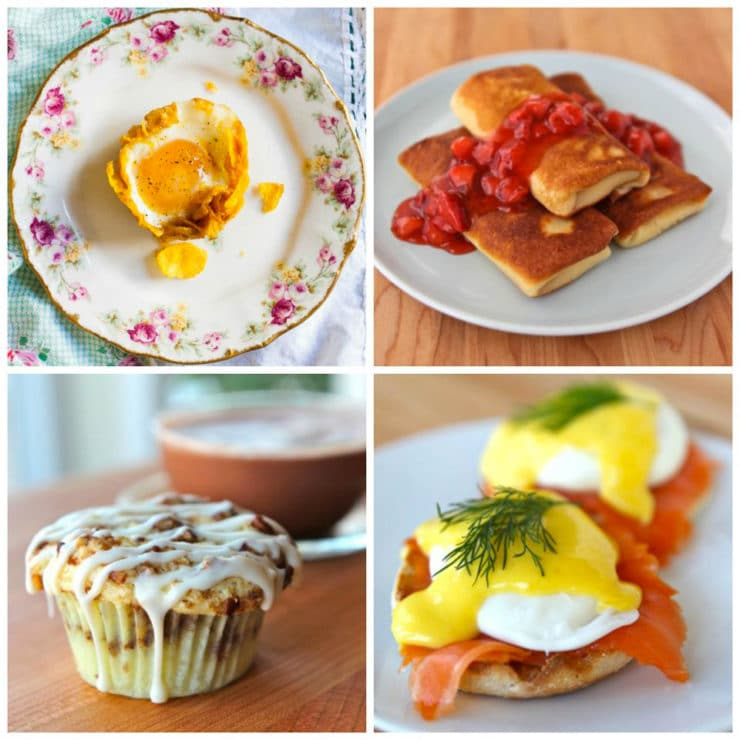 Mother's Day Brunch Recipes - A Roundup of Tasty and Inspiring Recipes. Show Mom How Much You Care With Homemade Brunch.