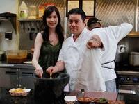 Katsuji's Smoky Chipotle Avocado Salsa - Authentic Recipe for Spicy Salsa Taquera on ToriAvey.com