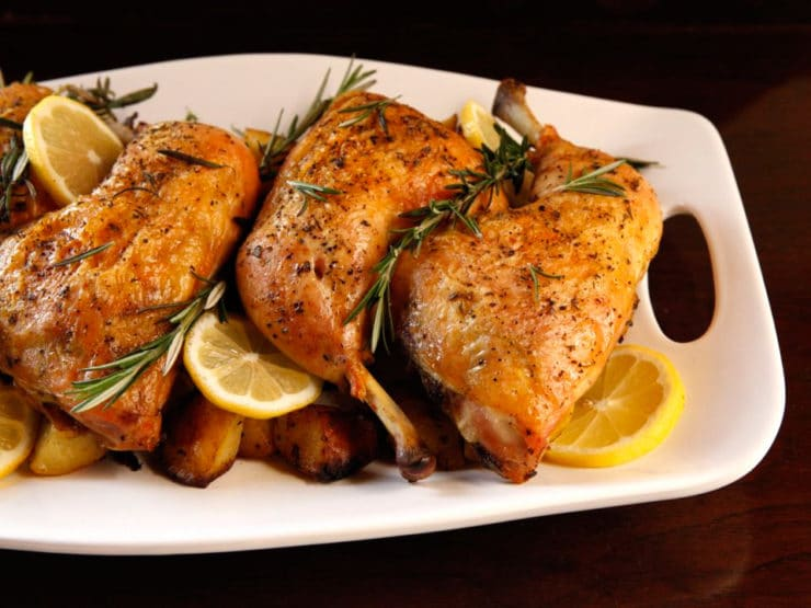 Rosemary Roasted Chicken & Potatoes