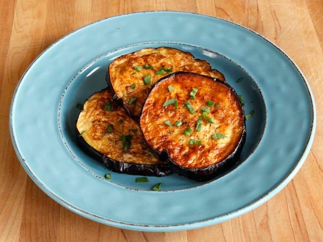 How to Fry Eggplant with Less Oil