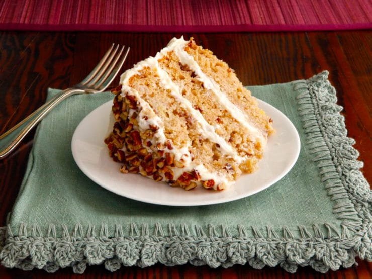 American Cakes: Hummingbird Cake - A traditional recipe and history for southern banana pineapple spice cake with cream cheese frosting from food historian Gil Marks.